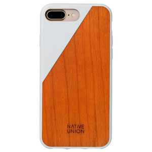 Купить Деревянный чехол Native Union CLIC Wooden White/Cherry для iPhone 7 Plus/8 Plus