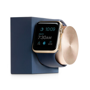 Купить Док-станция Native Union Dock Midnight Blue/Gold для Apple Watch