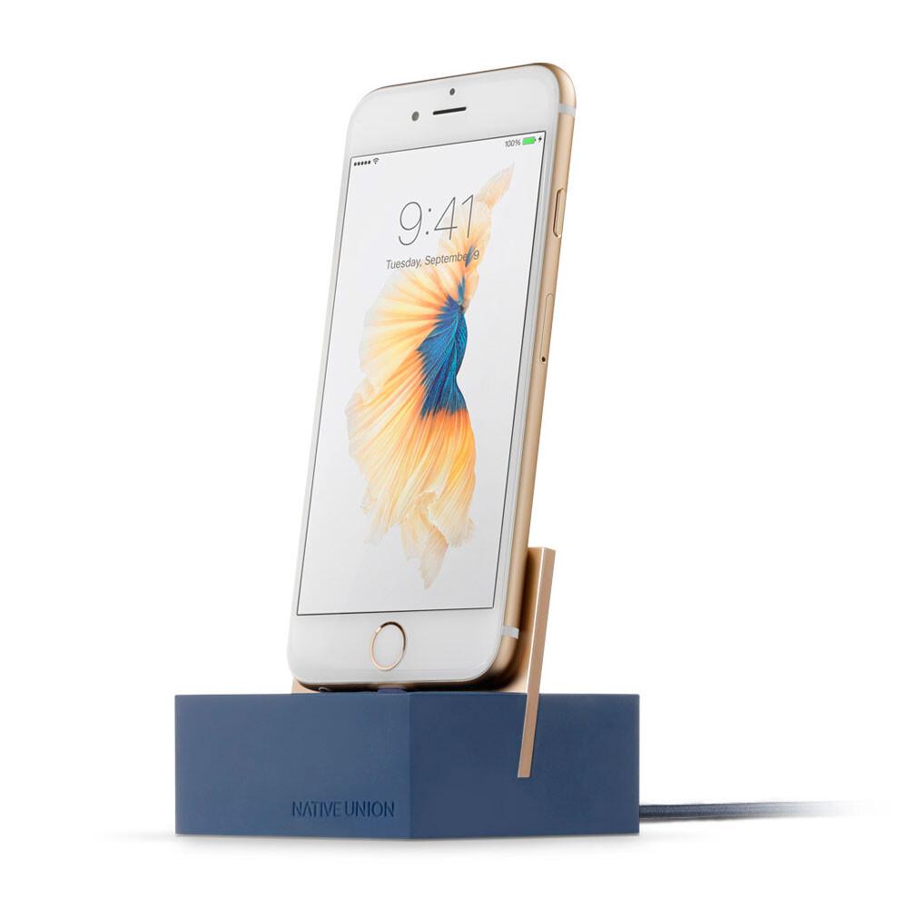 Программа для Iphone Ipad Ipod: Док-станция Native Union Dock Midnight Blue/Gold для