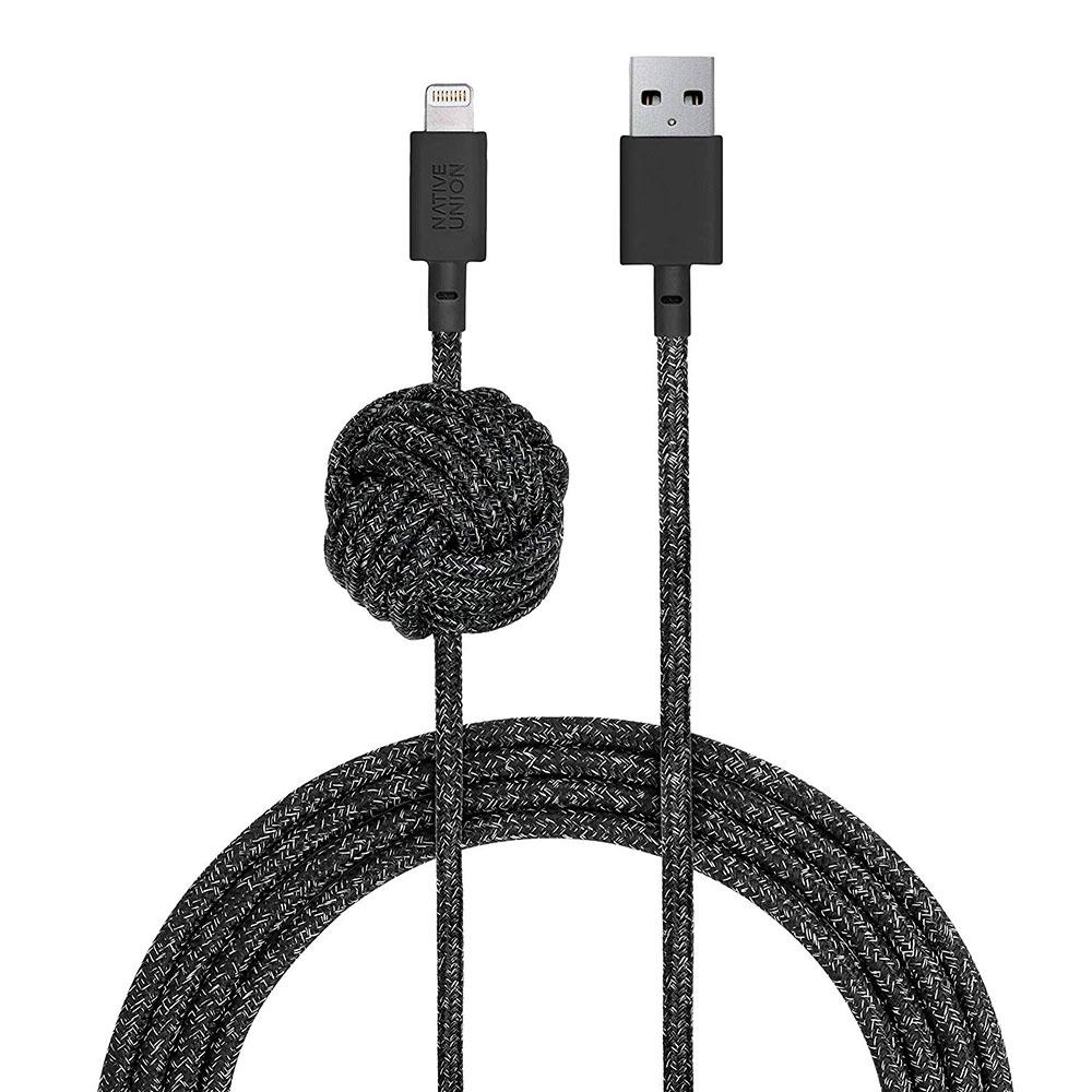 Купить Кабель Native Union Night Cable Cosmos Lightning to USB 3m