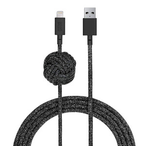Купить Кабель Native Union Night Cable Cosmos Lightning to USB 3m