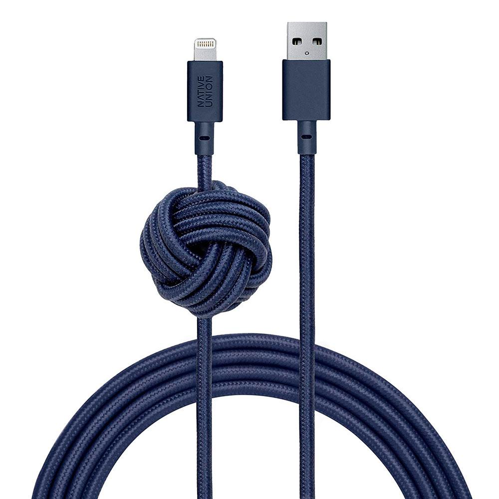 Купить Кабель Native Union Night Cable Marine Lightning to USB 3m