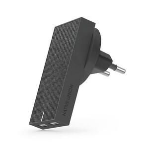 Купить Зарядное устройство Native Union Smart Charger Dual USB Slate