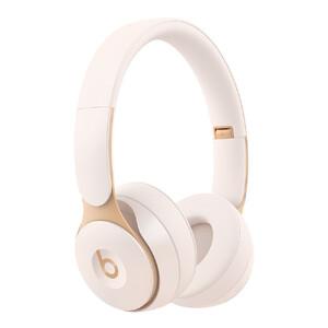 Купить Беспроводные наушники Beats Solo Pro Wireless Ivory с шумоподавлением (MRJ72)