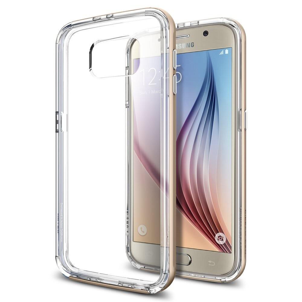 Чехол Spigen Neo Hybrid CC Champagne Gold для Samsung Galaxy S6