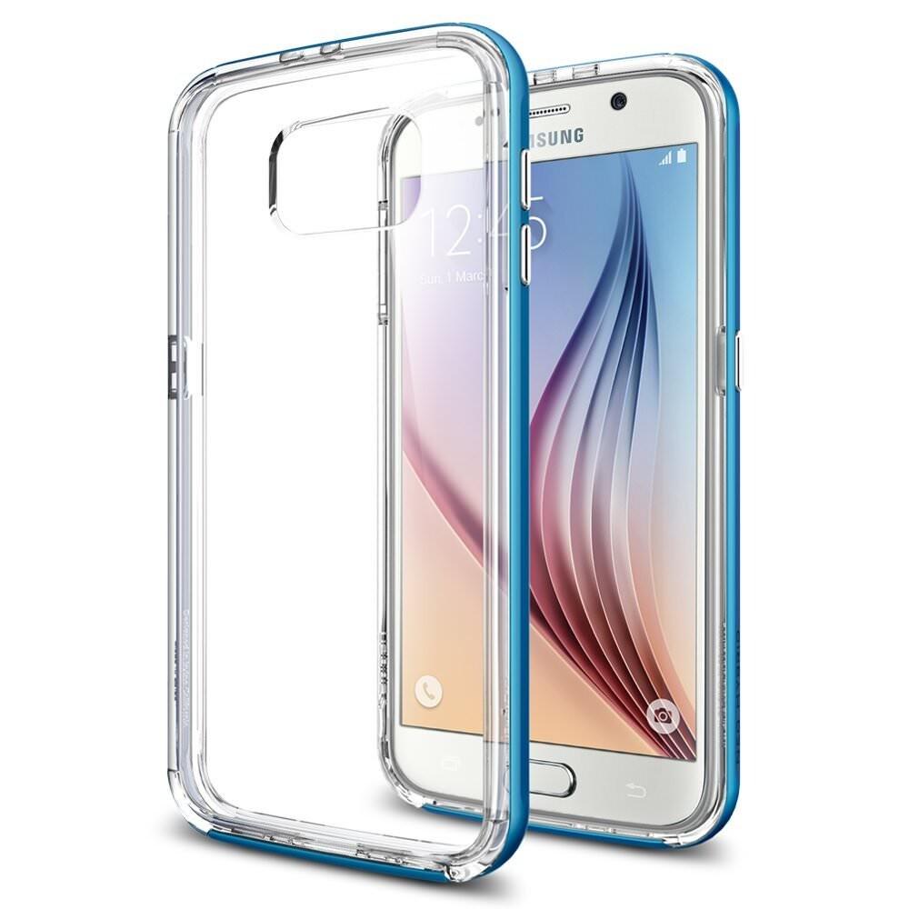 Чехол Spigen Neo Hybrid CC Electric Blue для Samsung Galaxy S6