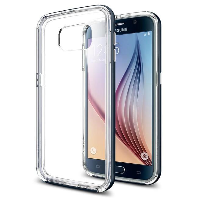 Чехол Spigen Neo Hybrid CC Metal Slate для Samsung Galaxy S6