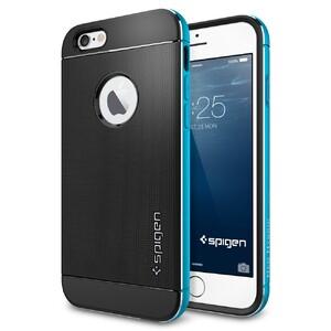 Купить Чехол Spigen Neo Hybrid Metal Metallic Blue для iPhone 6/6s
