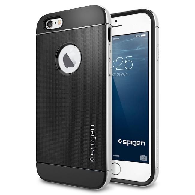 Чехол Spigen Neo Hybrid Metal Satin Silver для iPhone 6/6s