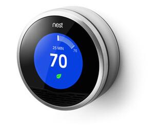 Купить Беспроводной термостат Nest Learning Thermostat 2nd Gen