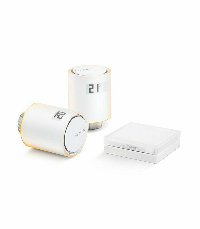 Купить Комплект умных радиаторных термоклапанов (термостат) NETATMO Smart Radiator Valves Starter Kit