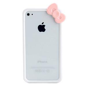 Купить Чехол с бантиком Fashion Bowknot White для iPhone 5/5S/SE
