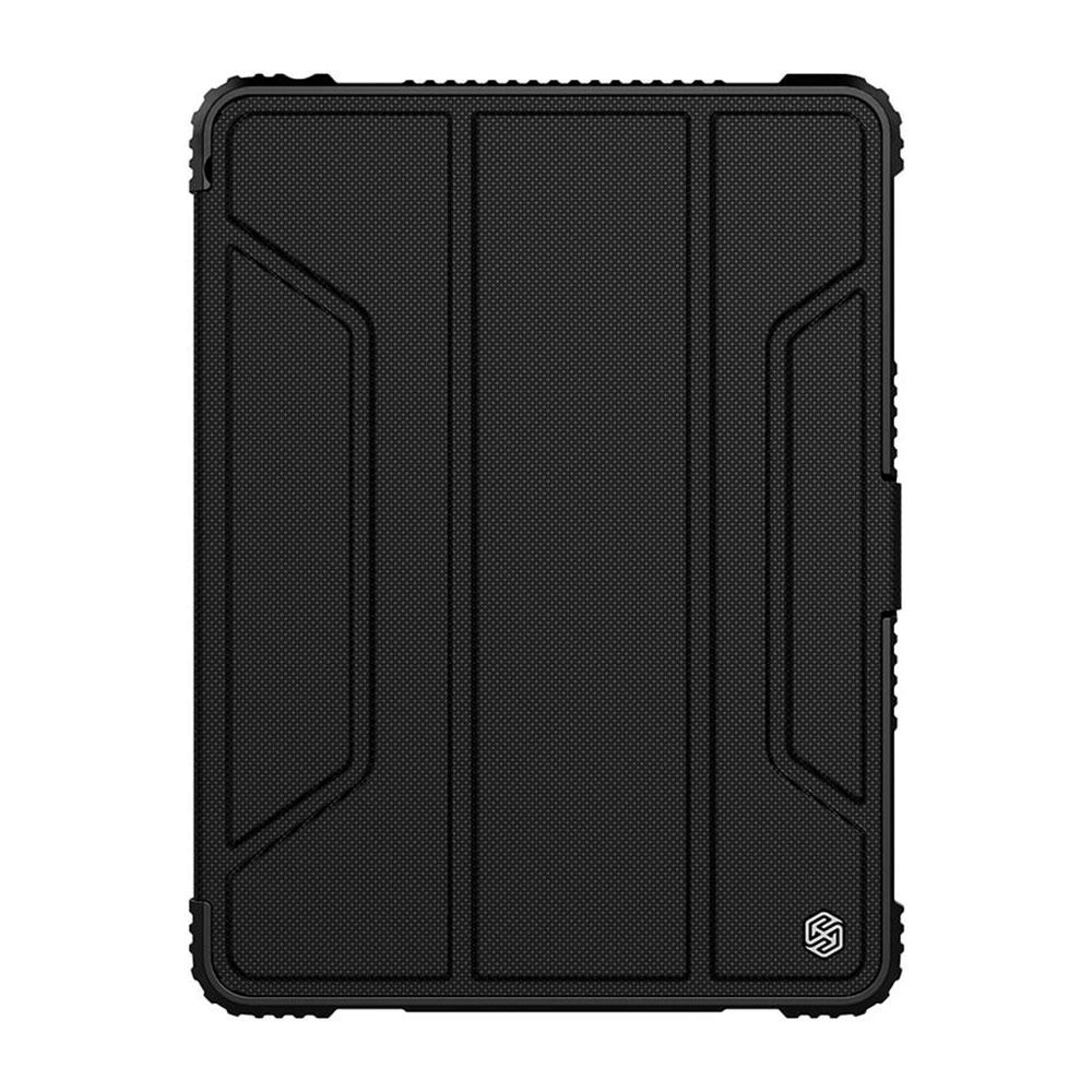 """Купить Магнитный чехол с держателем для Apple Pencil Nillkin Bumper Black для iPad 9.7"""" (2017   2018)"""