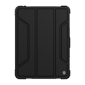 """Купить Магнитный чехол с держателем для Apple Pencil Nillkin Bumper Black для iPad 9.7"""" (2017/2018)"""