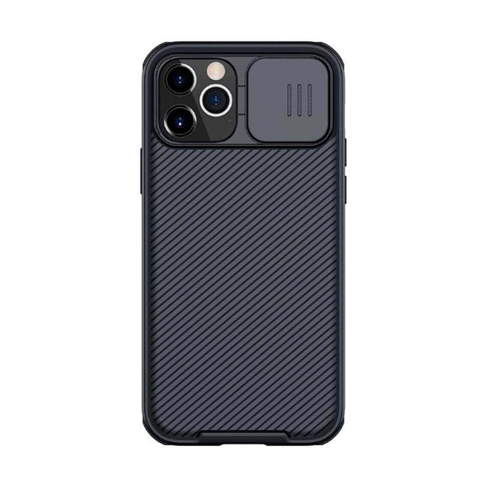 Купить Черный силиконовый чехол Nillkin CamShield Pro Case для iPhone 12   12 Pro