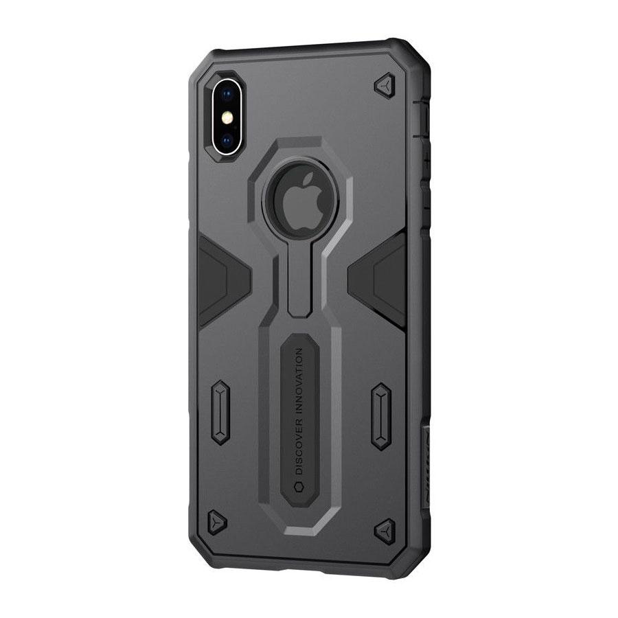 Купить Противоударный чехол Nillkin Defender 2 Black для iPhone XS Max