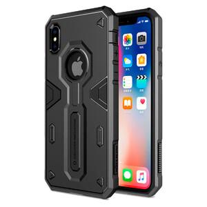 Купить Противоударный чехол Nillkin Defender 2 Black для iPhone X/XS