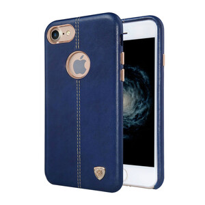 Купить Кожаная накладка Nillkin Englon Blue для iPhone 7/8