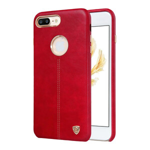 Купить Кожаная накладка Nillkin Englon Red для iPhone 7 Plus