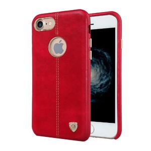 Купить Кожаная накладка Nillkin Englon Red для iPhone 7