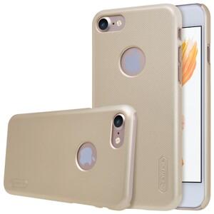 Купить Пластиковый чехол Nillkin Frosted Shield Gold для iPhone 7