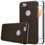 Пластиковый чехол Nillkin Frosted Shield Brown для iPhone 7/8