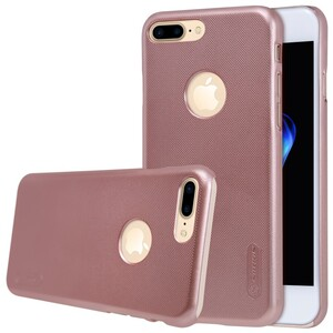 Купить Пластиковый чехол Nillkin Frosted Shield Rose Gold для iPhone 7 Plus/8 Plus