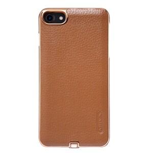 Купить Кожаный чехол с беспроводной зарядкой Nillkin N-JARL Brown для iPhone 7