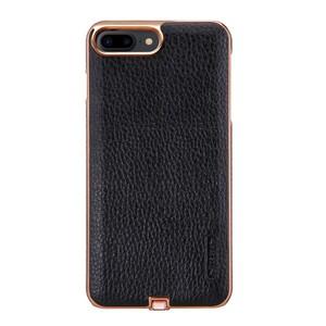 Купить Кожаный чехол с беспроводной зарядкой Nillkin N-JARL Black для iPhone 7 Plus