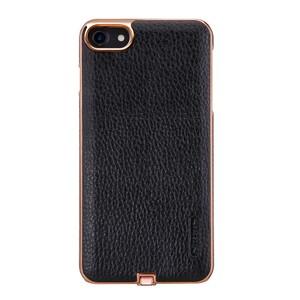 Купить Кожаный чехол с беспроводной зарядкой Nillkin N-JARL Black для iPhone 7/8
