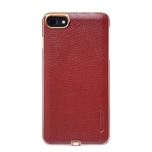Купить Кожаный чехол с беспроводной зарядкой Nillkin N-JARL Red для iPhone 7
