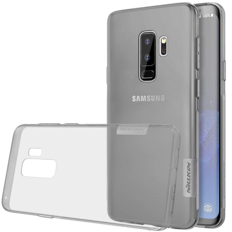 Купить TPU чехол Nillkin Nature Series Grey для Samsung Galaxy S9 Plus
