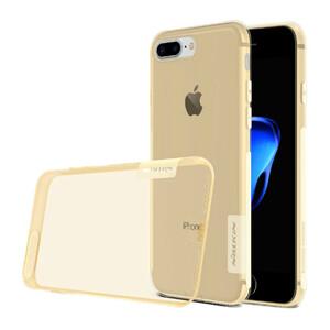 Купить Золотой TPU чехол Nillkin Nature для iPhone 7 Plus