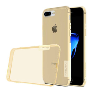 Купить Золотой TPU чехол Nillkin Nature для iPhone 7 Plus/8 Plus