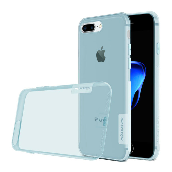 Голубой TPU чехол Nillkin Nature для iPhone 7 Plus | 8 Plus