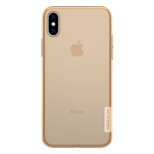 Купить TPU чехол Nillkin Nature Series Brown для iPhone X/XS