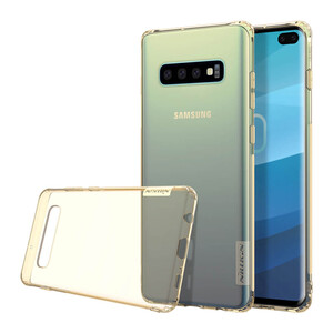 Купить TPU чехол Nillkin Nature Series Brown для Samsung Galaxy S10 Plus