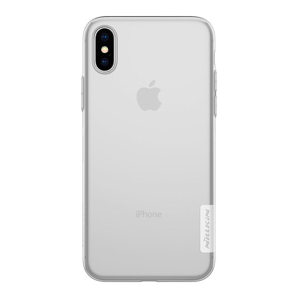 TPU чехол Nillkin Nature Series White для iPhone X/XS
