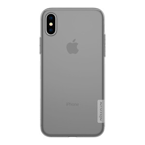 Купить TPU чехол Nillkin Nature Series Grey для iPhone X/XS