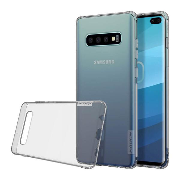 TPU чехол Nillkin Nature Series Grey для Samsung Galaxy S10 Plus