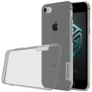 Купить Серый TPU чехол Nillkin Nature для iPhone 7