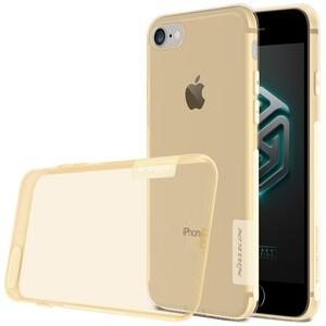 Купить Золотой TPU чехол Nillkin Nature для iPhone 7