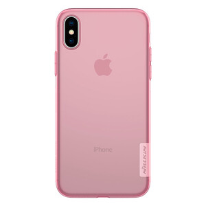 Купить TPU чехол Nillkin Nature Series Pink для iPhone X/XS