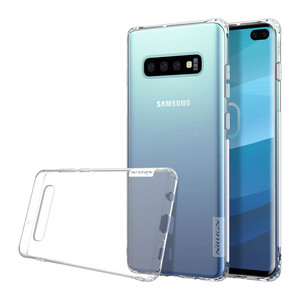 Купить TPU чехол Nillkin Nature Series Transparent для Samsung Galaxy S10 Plus