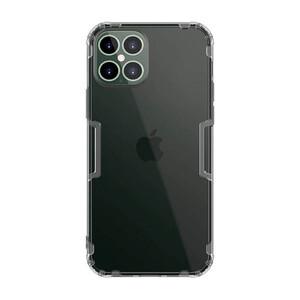 Купить Прозрачный силиконовый чехол Nillkin Nature TPU Case Gray для iPhone 12 mini