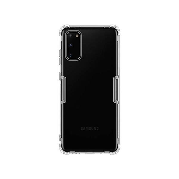 Прозрачный защитный чехол Nillkin Nature TPU Case White для Samsung Galaxy S20