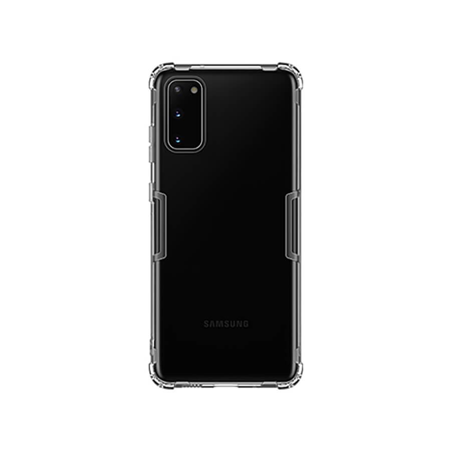 Купить Прозрачный защитный чехол Nillkin Nature TPU Case Gray для Samsung Galaxy S20