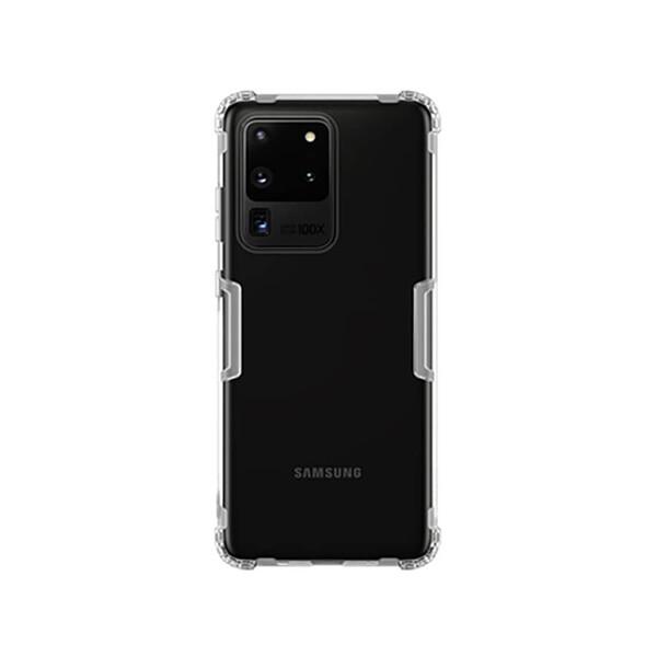 Прозрачный защитный чехол Nillkin Nature TPU Case White для Samsung Galaxy S20 Ultra