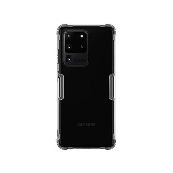 Прозрачный защитный чехол Nillkin Nature TPU Case Gray для Samsung Galaxy S20 Ultra