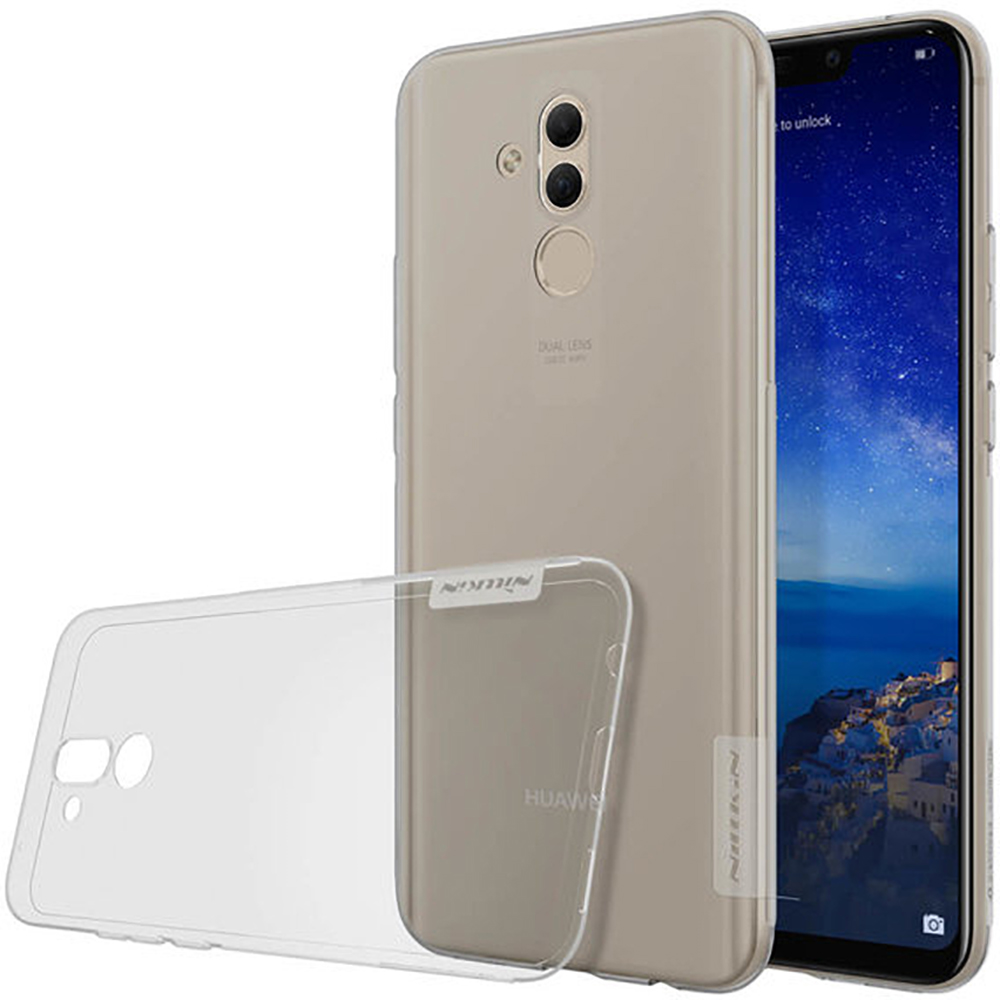 Купить Чехол Nillkin Nature TPU Case Gray для Huawei Mate 20 Lite